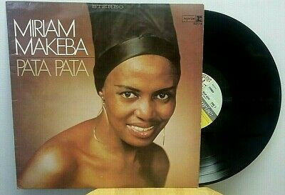 MIRIAM MAKEBA PATA Pata LP Reprise Records VG+ - $9 95