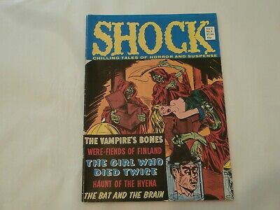 AR* USA/UK Shock Chilling Tales of Horror #3 (1980) B&W Moore Harness Press VG/F