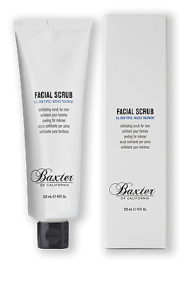 Baxter of California Exfoliating Facial Scrub, Non-Drying with crushed Walnut to