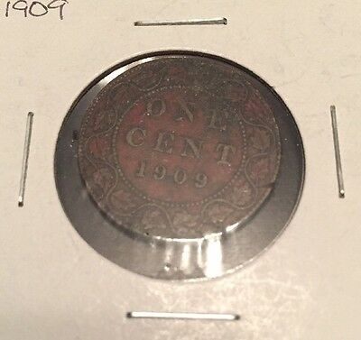 1909 Canadian Large Cent, Good Condition!