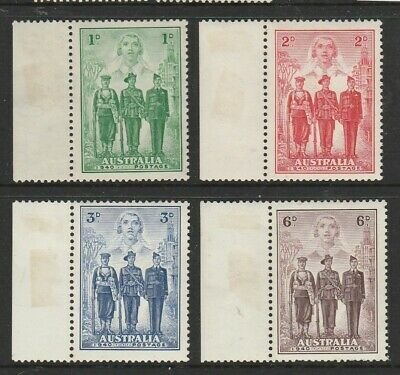 Australia Pre Decimal Mint Stamps - AIF Set MNH Stamps with Selvedges MH (2124)