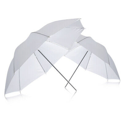 "Neewer 33""/84cm White Translucent Umbrella for Photography Studio Light-2 pack"