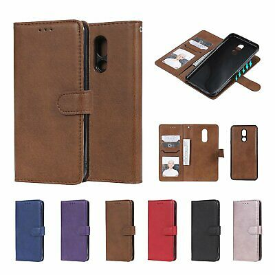 For LG Stylo 5 V30 Xpower Detachable Magnetic Leather Wallet Purse Cover Case