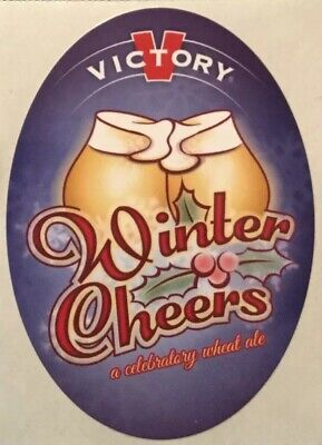 Victory Brewing Company Sticker decal craft Brewery Micro Downingtown PA