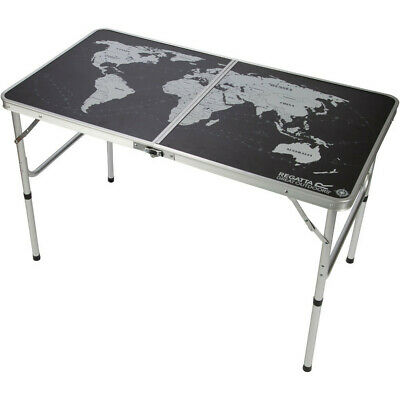 Regatta Folding Sturdy Fold Out Vintage Camping Games Table