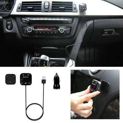Bluetooth LCD Transmitter Car MP3 Player FM Transmitter Radio SD USB Charger