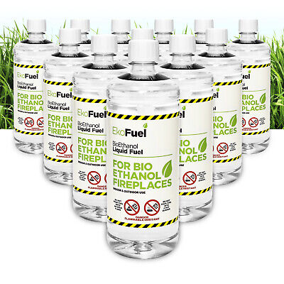 Bioethanol Fuel for Fires, FREE NEXT DAY DELIVERY, Premium Quality,Clean Burn