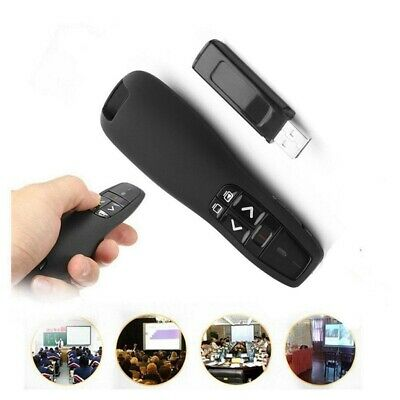 USB Wireless Presenter Power Point PPT with Laser Pointer Remote Clicker Pen