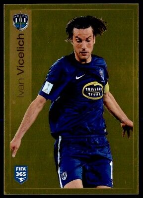 PANINI STICKERS FIFA 365 2016 n 671 THE BADGE AUCKLAND TOP MINT!!