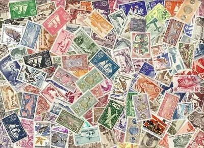 St Pierre & Miquelon Stamp Collection - 150 Different Stamps