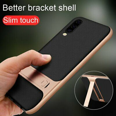 For Samsung Galaxy A50 A70 A10 Hybrid Shockproof Rugged Hard Stand Cover Case