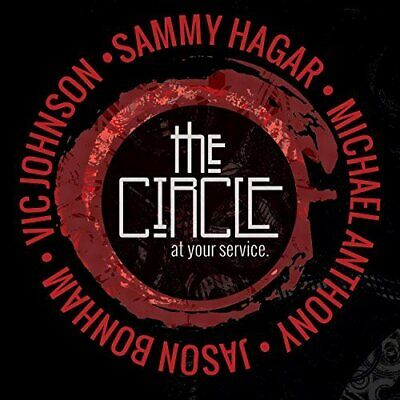 Sammy Hagar and The Circle - At Your Service (2 Disc) CD NEW