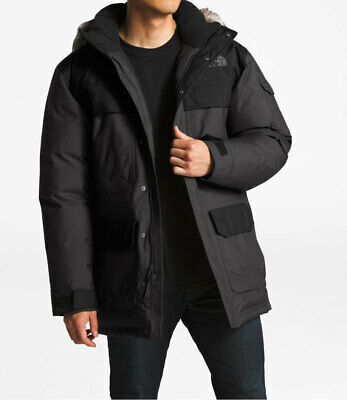 c81e9dce7 THE NORTH FACE McMurdo Parka III Asphalt Grey TNF Black Men's Jacket ...