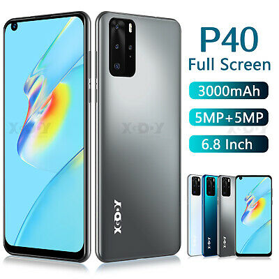 2019 Large Screen Android 8.1 Factory Unlocked 4Core Smart Mobile Phone 5MP 4GB