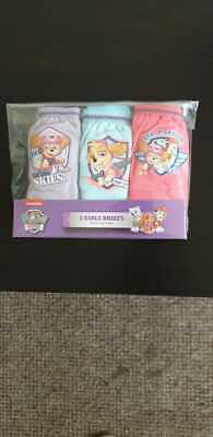 Paw patrol girls Official Briefs Cotton age 2-3 years