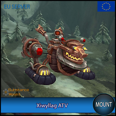 Xiwyllag ATV WoW Mount | EU Server | World Of Warcraft