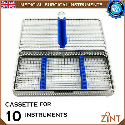 Sterilization Cassette Mesh Tray Stainless Steel Holding Instruments Medical