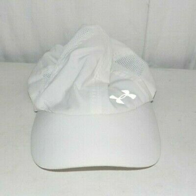 299004f7d UNDER ARMOUR WOMEN'S Fly Fast Cap/Hat White nwt $20 - $17.99 | PicClick