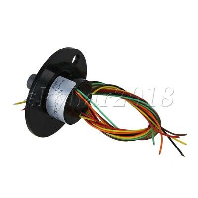 6 Wires 2A Circuits 250Rpm Capsule Slip Ring 500V For Monitor Robotic