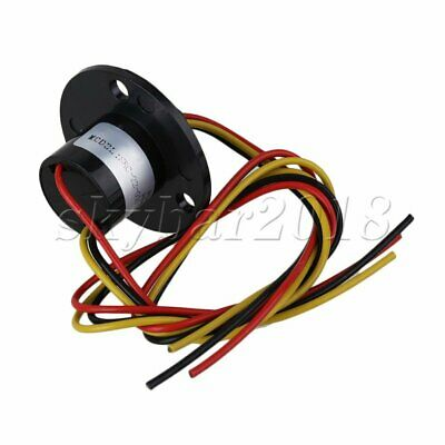 3 Wires 10A Circuits 500Rpm Capsule Slip Ring 500V For Monitor Robotic