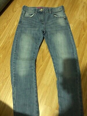 Girls Age 9 Years Denim Skinny Jeans From Next