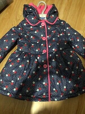 NEW Girls Age 4-5 Years Blue Jacket From Miniclub At Boots