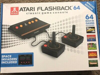 Atari Flashback 64 Special Edition Classic Game Console 2 Controllers