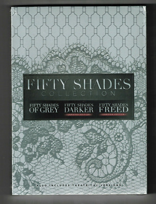 Fifty Shades of Grey, Darker, Freed 3-Movie Collection (DVD, 2018) Brand New