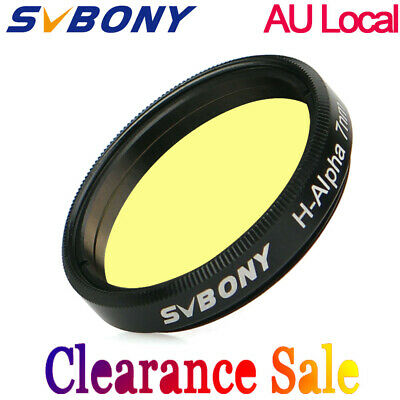 "SVBONY 7nm 1.25"" H-Alpha Filters Narrowband Astronomical Photographic Filters AU"