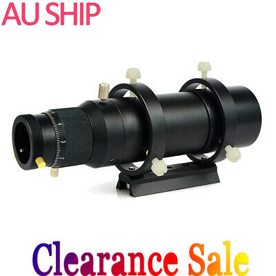 50mm CCD Imaging Guide Scope Finderscope Bracket For Astro Telescope brand newAU