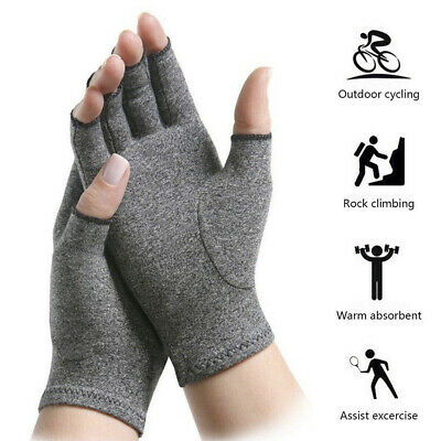 Men Arthritis Hand Compression Gloves Hand Wrist Brace Relief Carpal Tunnel Pain