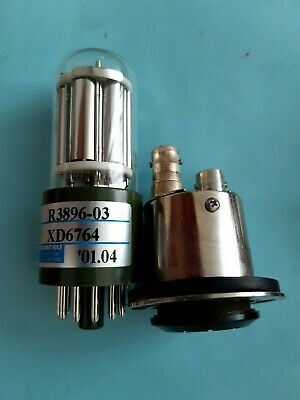Hamamatsu R3896-03 photomultiplier bulb w/high-voltage power supply
