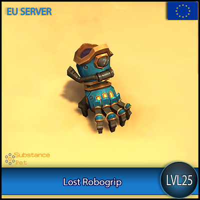 Lost Robogrip lvl25 Pet BFA | All Europe Server | WoW Warcraft Loot