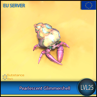 Pearlescent Glimmershell lvl25 Pet BFA | All Europe Server | WoW Warcraft Loot