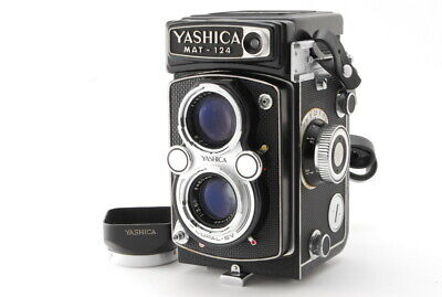 【Exc+++】YASHICA MAT-124 6x6 TLR Medium Format Camera+ 80mm F3.5 from Japan (373)