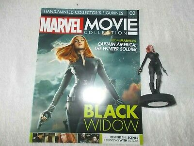 Marvel Action Figure Movie Figurine Collection #2 Black Widow