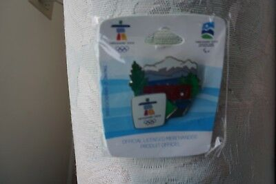 Train van 1165  AUTHENTIC Vancouver 2010 Winter Olympic PIN New