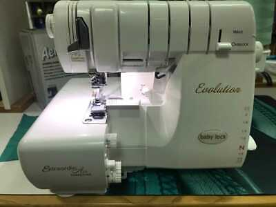 BABY LOCK BLE8W2 Evolution Serger - 8 Thread Capability