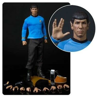 QMX Exclsuive Star TrekThe Original Series Reissue Mr. Spock 1/6 Figure Presell