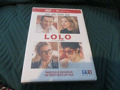 "DVD ""LOLO"" Dany BOON, Julie DELPY, Vincent LACOSTE, Karin VIARD"