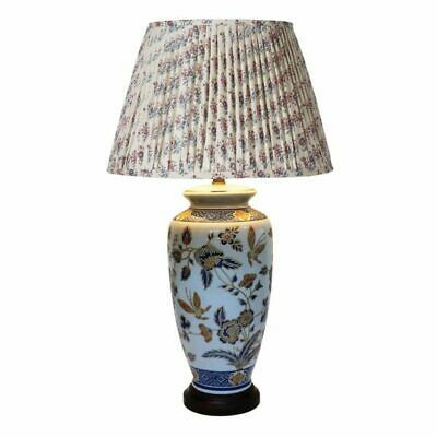 Pair of Classical Floral Lamps