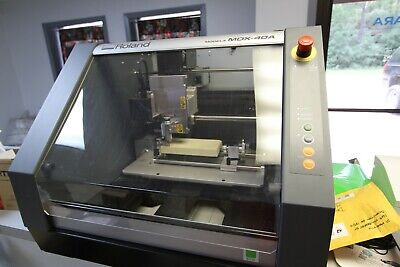 Roland MDX-40A 3D Mill with Contact Scanner
