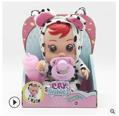 Cry Babies Doll 3D Silicone Doll Reborn  Magic Tears Dolls Toys For Children
