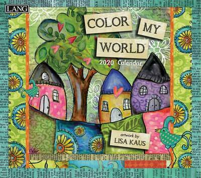 Colour My World 2020 Wall Calendar by Lang 20991001854