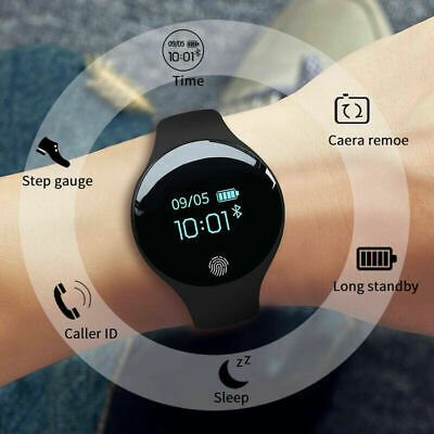 Men Women Smart Watch Digital Sports for IOS Android  Bluetooth Step Counter UK