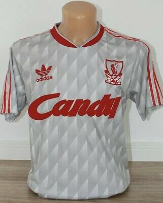Adidas Liverpool FC Jersey Shirt Candy Large L Mens Rare Gray Official Retro NWT