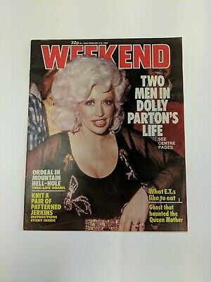 1983 Dolly Parton Weekend Magazine