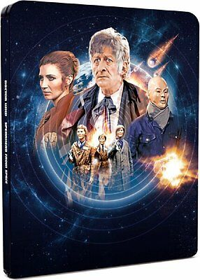 Doctor Who - Spearhead from Space Limited Edition Steelbook (2000 only) BLU-RAY
