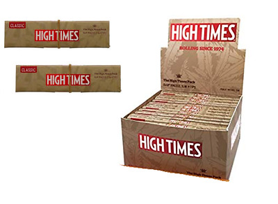 RAW High Times King Size Slim + Tips - 2 PACKS - Connoisseur Rolling Papers