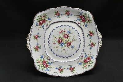 Royal Albert Petit Point Square Handled Cake Plate